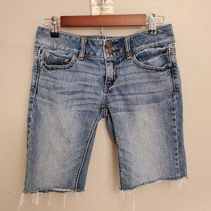 American Eagle Artist Cut Off Jean Shorts